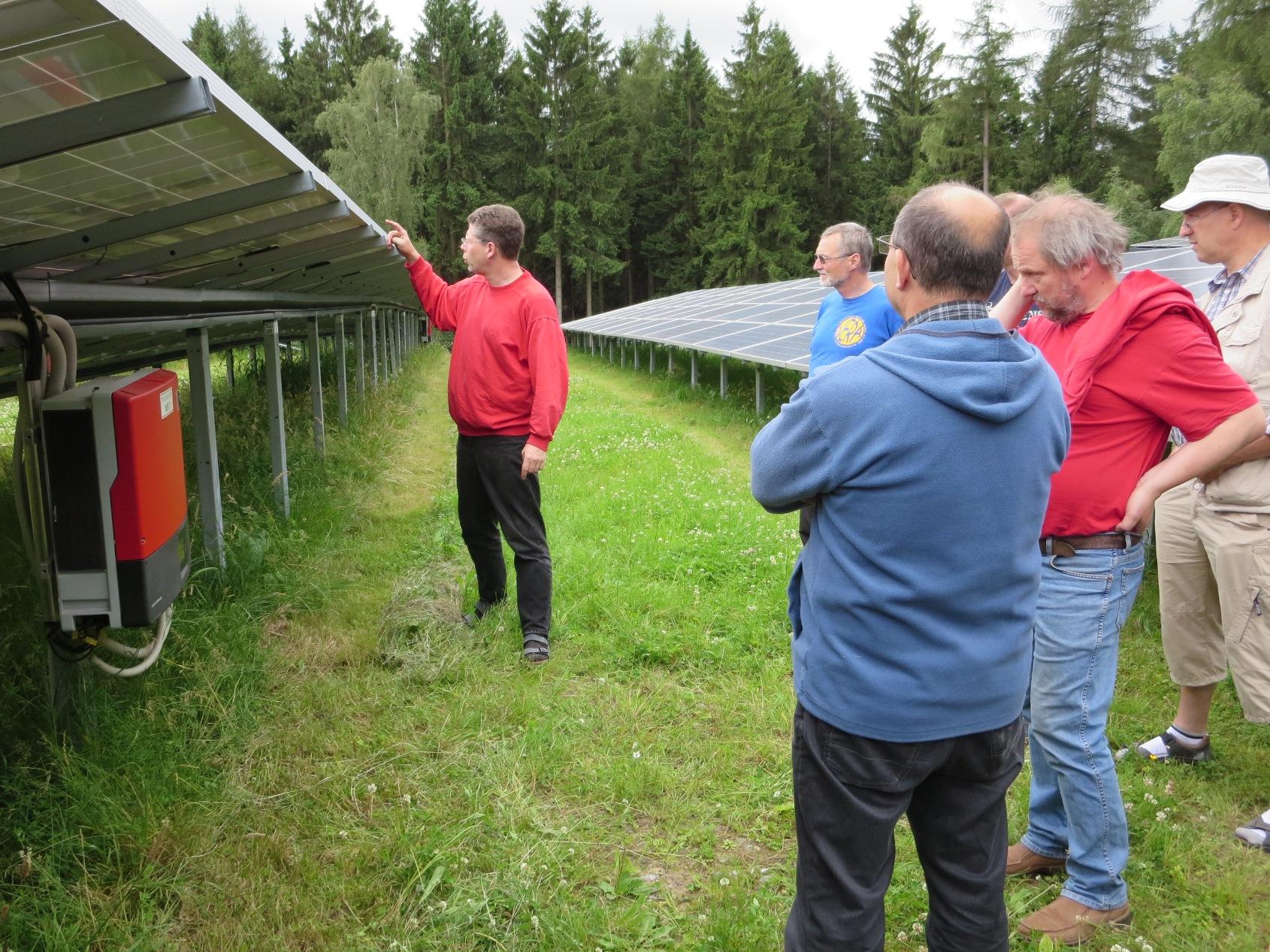 Freiflächensolaranlage am Spulberg, Arnsberg, 3,2 MW