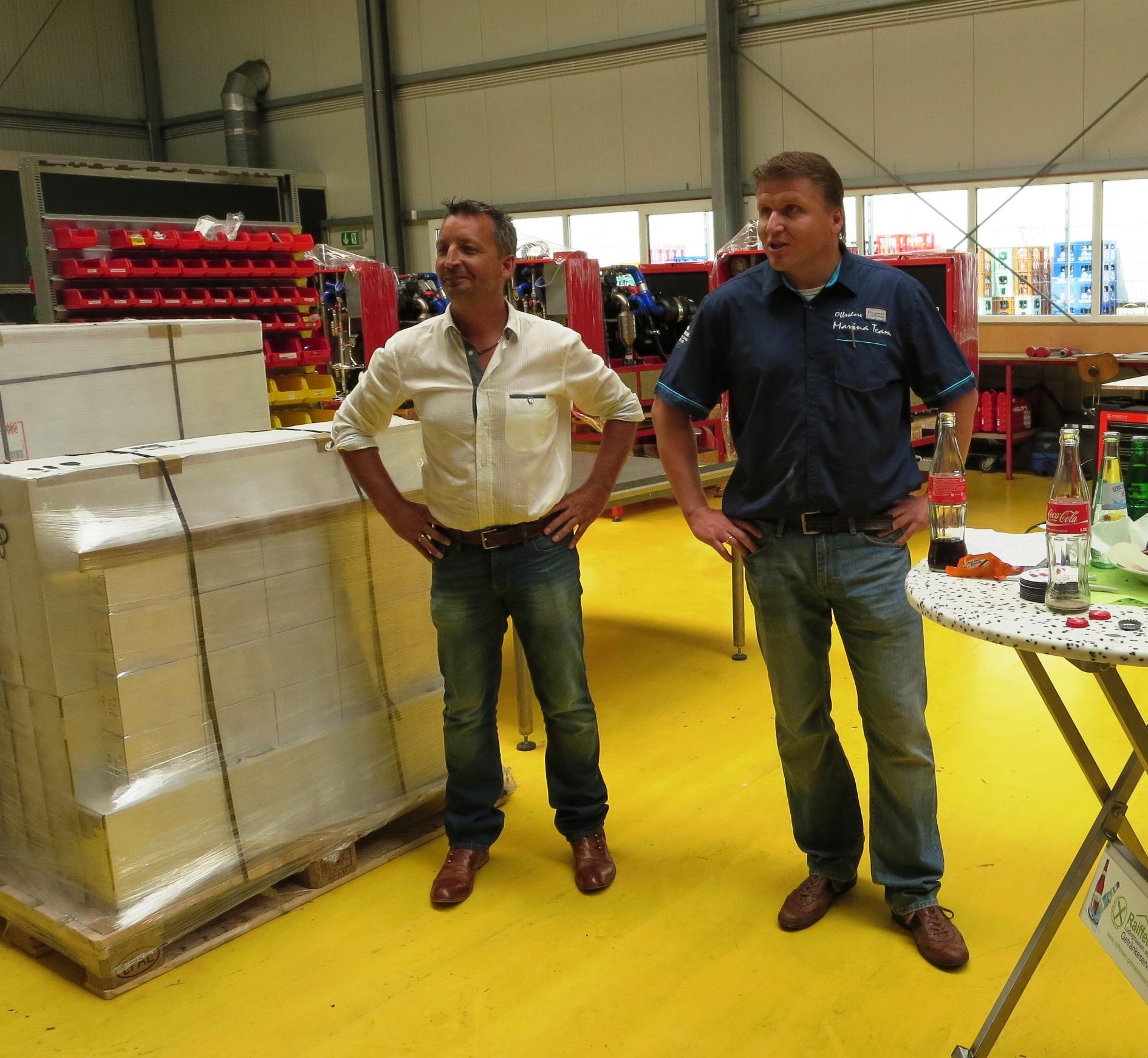 Wendelin Vogt und Ludger Hörstrup wollen Strom zum Atmen bringen, intelligente Haustechnik wird es einst möglich machen.