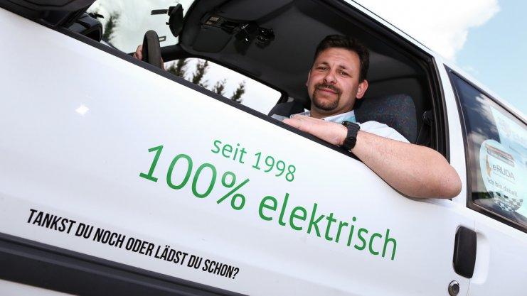 Siegertyp: Thorsten Elixmann aus Bad Iburg führt derzeit in seiner Klasse. Foto: David Ebener