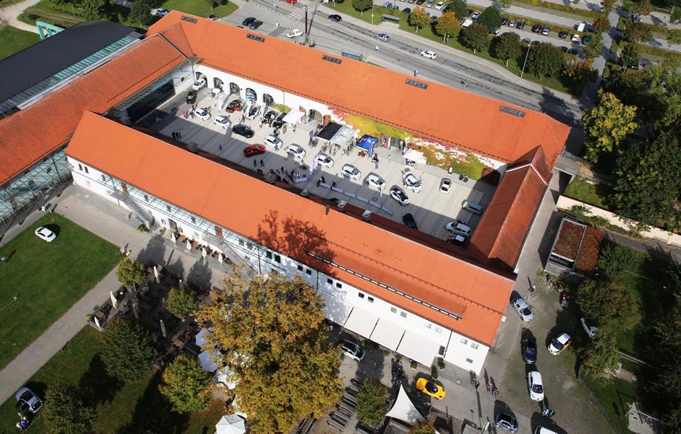 Klosteranlage als Eventstandort für dien Aussteller und ihre Aktivitäten